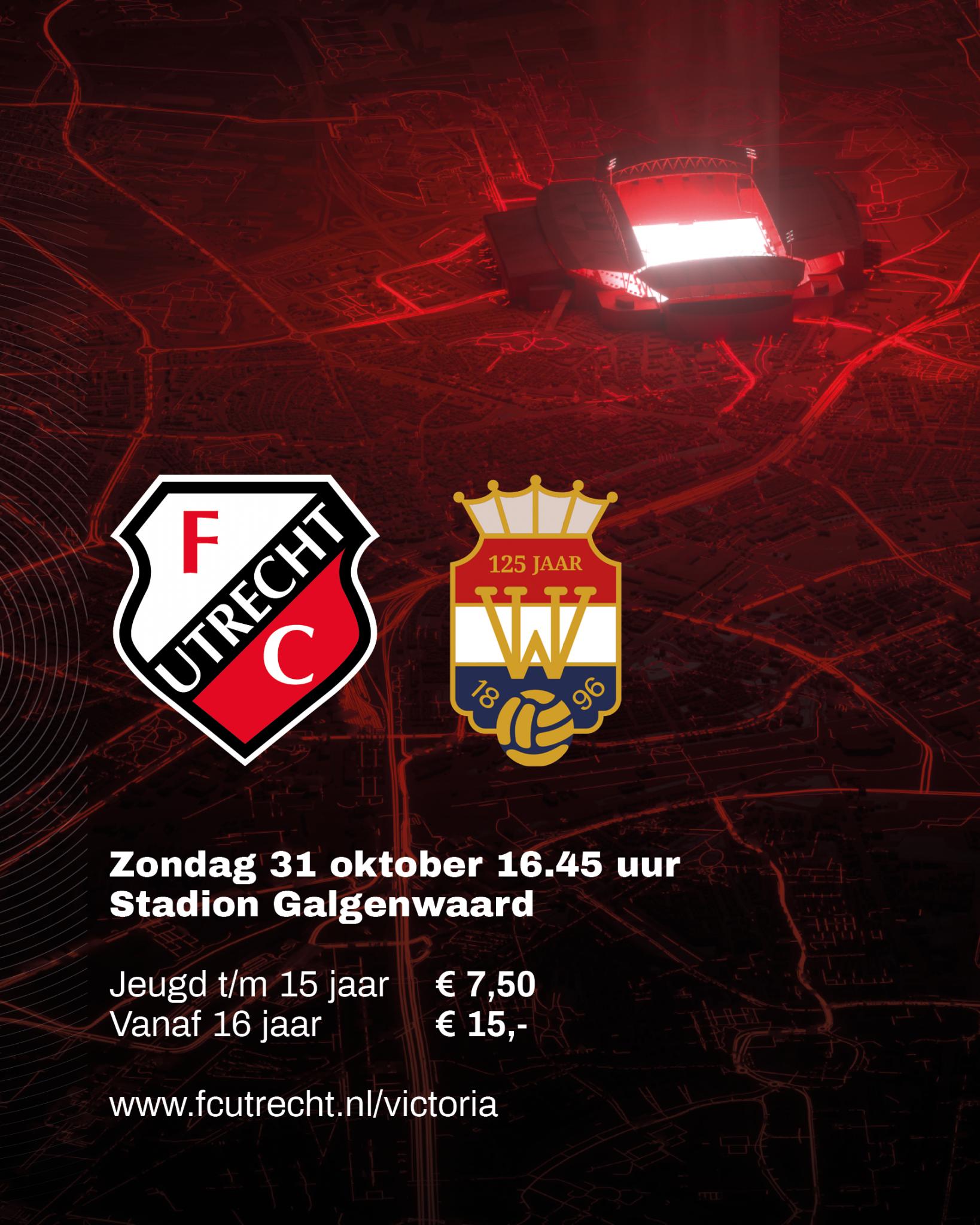 Met korting naar FC Utrecht - Willem II